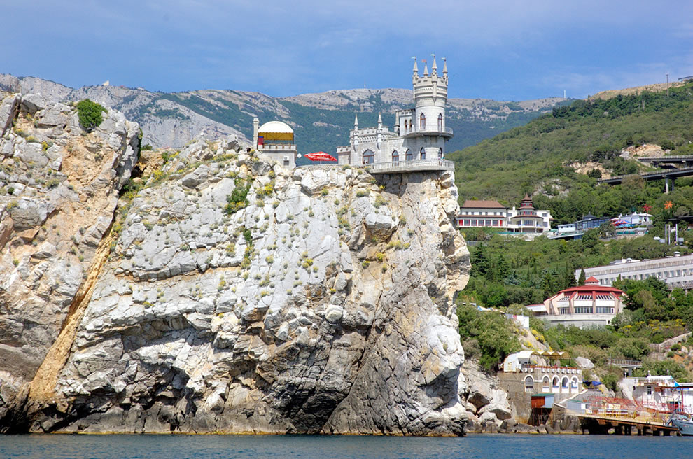 Swallows Nest castle, Krym, Ukraine
