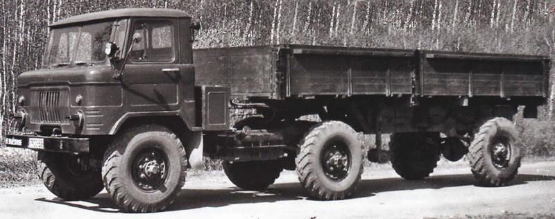 ГАЗ 66П авто, история, факты