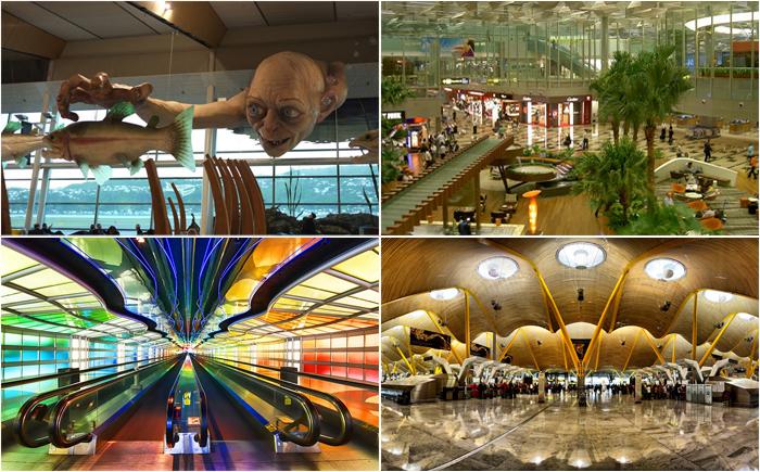 10 самых потрясающих аэропортов в мире, из которых не захочется улетать