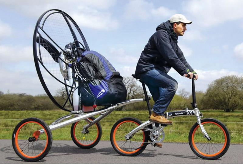 Встречайте первый в мире летающий велосипед