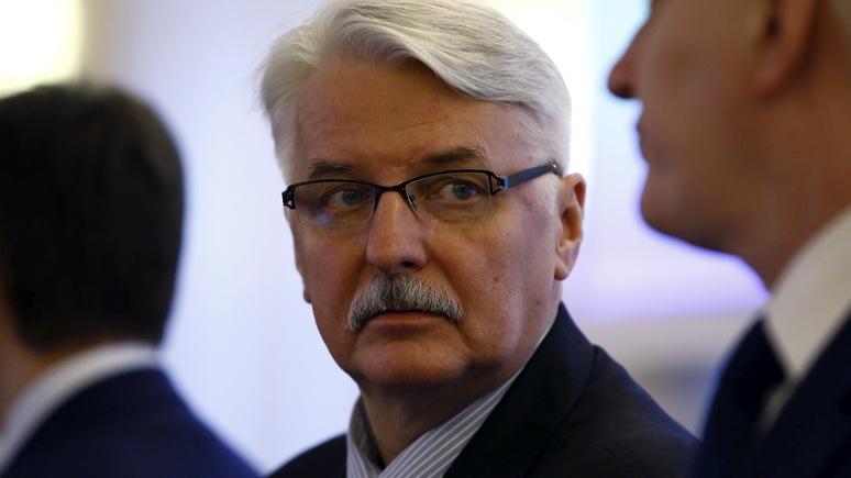 Глава МИД Польши: Москва не хочет общаться с Варшавой на высшем уровне