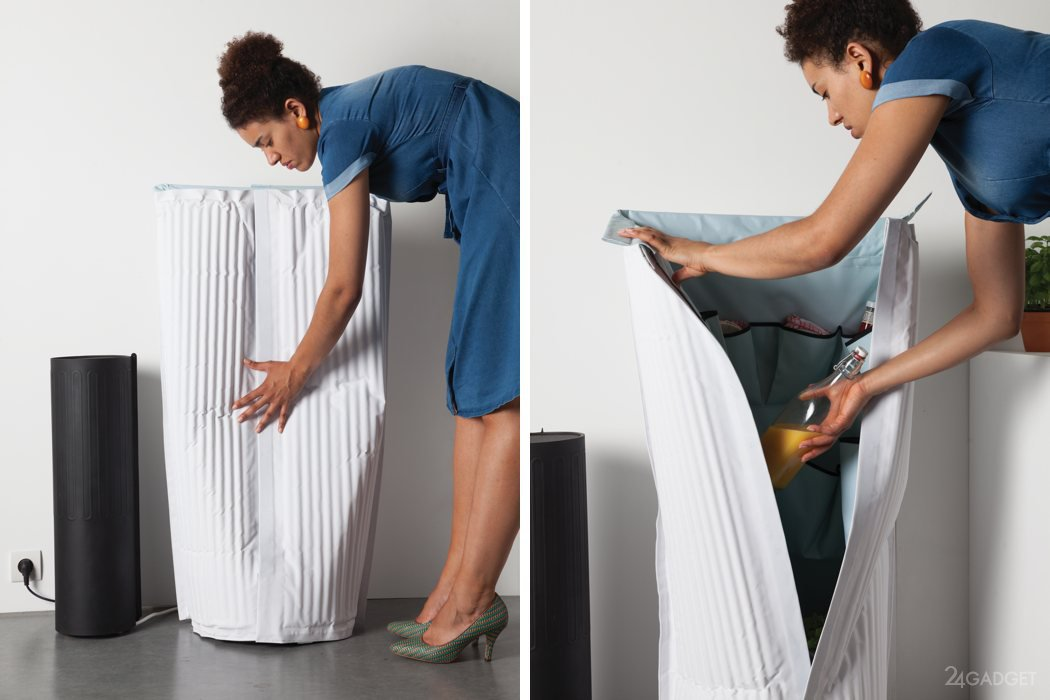 Масштабируемый малогабаритный холодильник Frigid Air