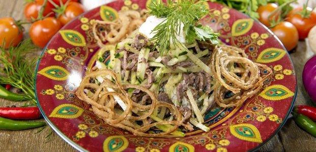 Салат Ташкент – 5 вкусных рецептов