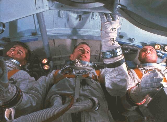 27 января 2017 года - 50 лет со дня гибели американских астронавтов