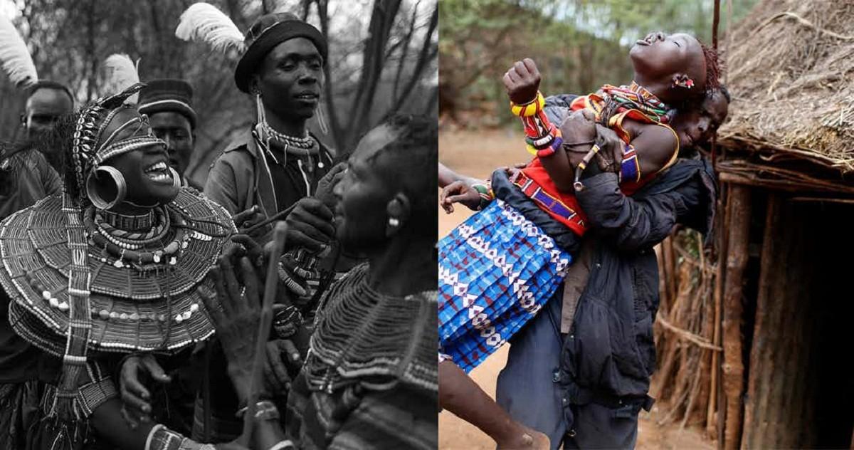 Как супружеский долг исполняют впервые в африканских племенах