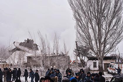 Опубликованы имена погибших под Бишкеком летчиков