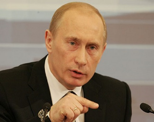 Ваша карта бита: Путин броси…