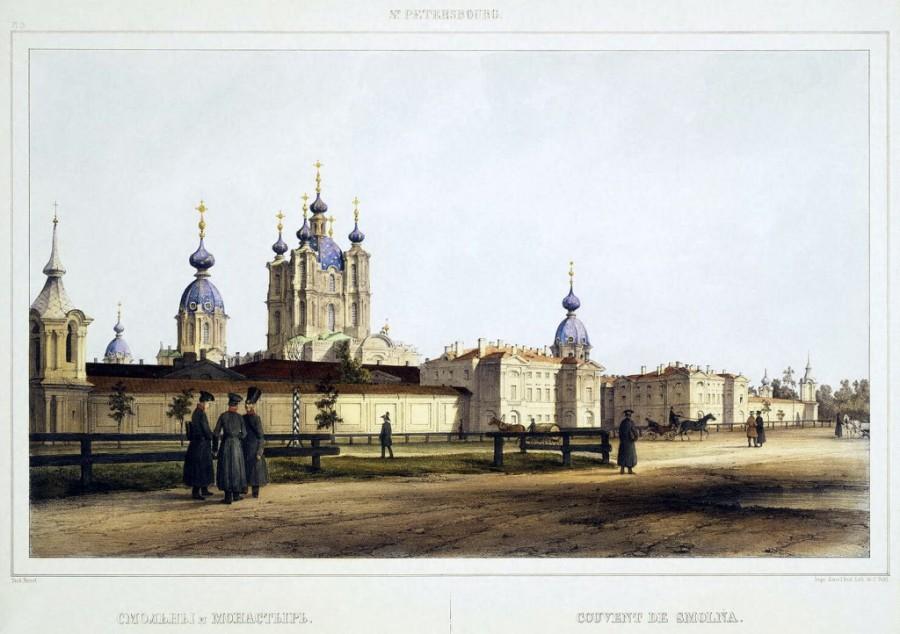Литографированные виды Петербурга 1808 - 1841 гг, из архивов Эрмитажа