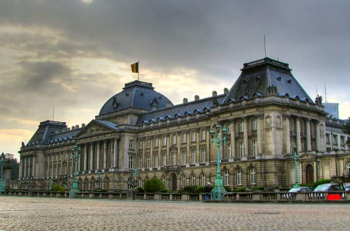 Королевский дворец в Брюсселе, Бельгия.