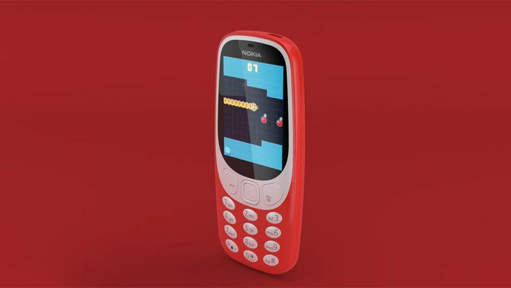 В Россию официально пришли легендарные телефоны Nokia 3310