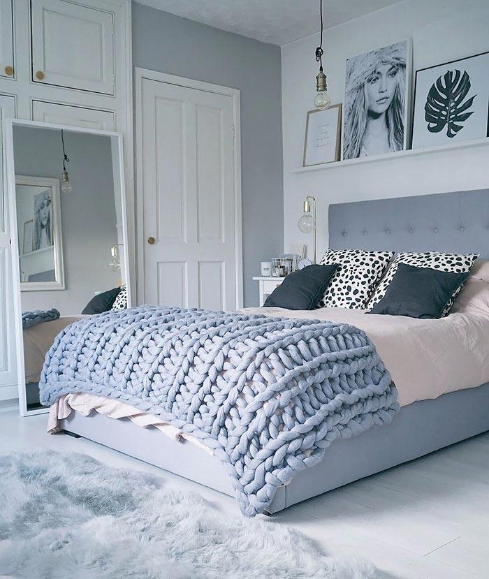 Вы можете связать это гигантское вязаное уютное одеяло всего за 4 часа
