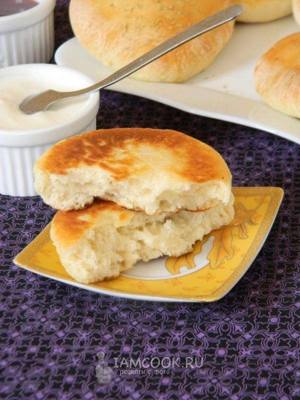 Пошаговый рецепт лепешек из кефира