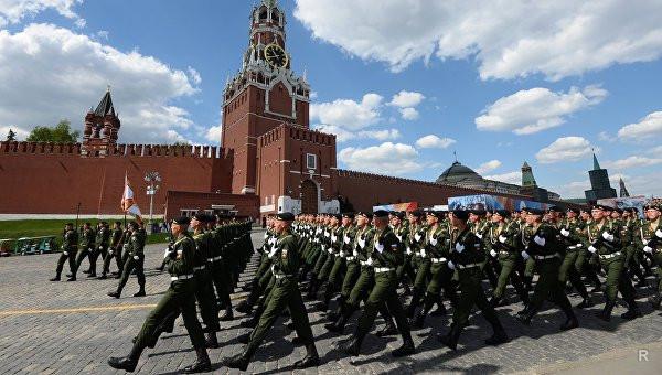 День Победы: военный Парад проходит с некоторыми изменениями