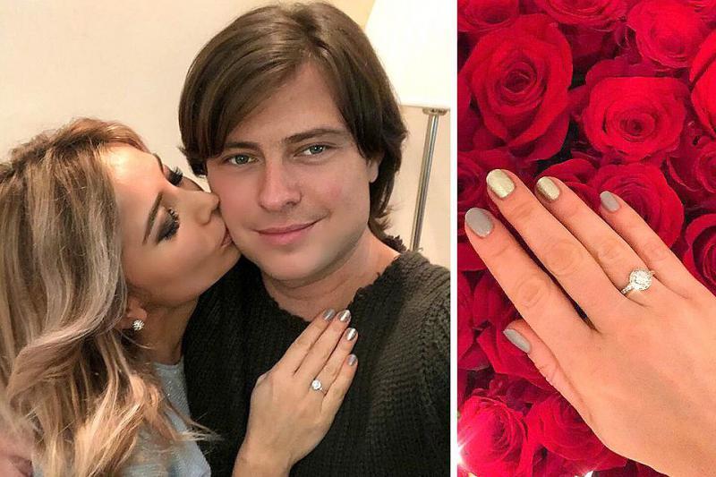 Татьяна кольцо приняла, но на предложение стать женой ответила, что подумает...