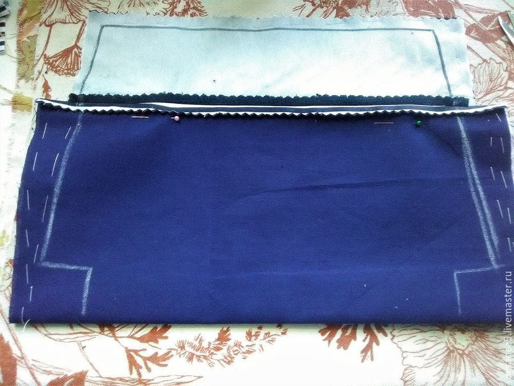 Шьем летнюю сумку в морском стиле