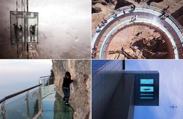 Без дна. 10 необыкновенных сооружений со стеклянным полом