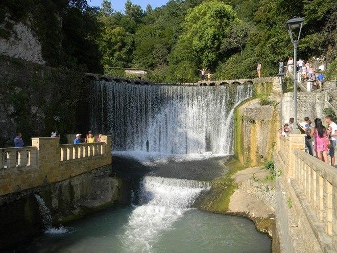 Новый Афон — прекрасный город в Абхазии