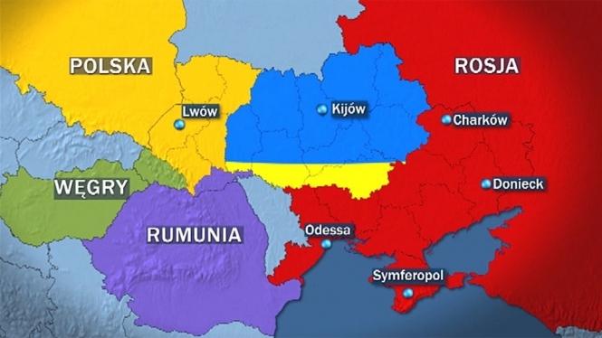 Определилась тройка стран-лидеров по разделу бывшей Украины