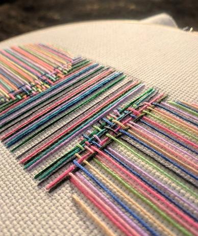 Вышивки Бреда Дункана (подборка)