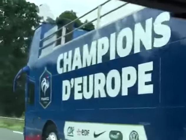 Французы, отдайте чемпионский автобус португальцам!