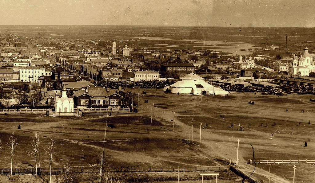 Исторические фотографии Челябинска