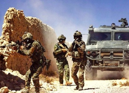 «Спецназ из СССР» безжалостно уничтожил группу боевиков у Пальмиры