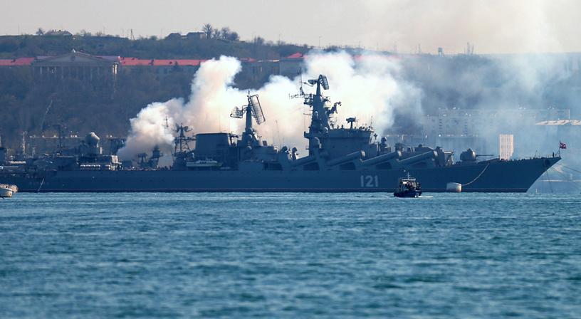 Севастопольский рейд: боевые корабли Черноморского флота