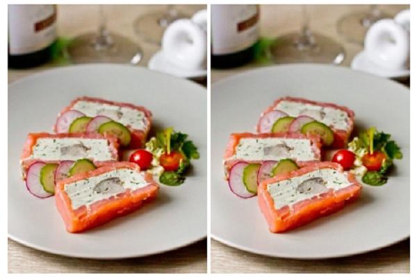 Восхитительный террин из рыбы со сливочным сыром. Божественно