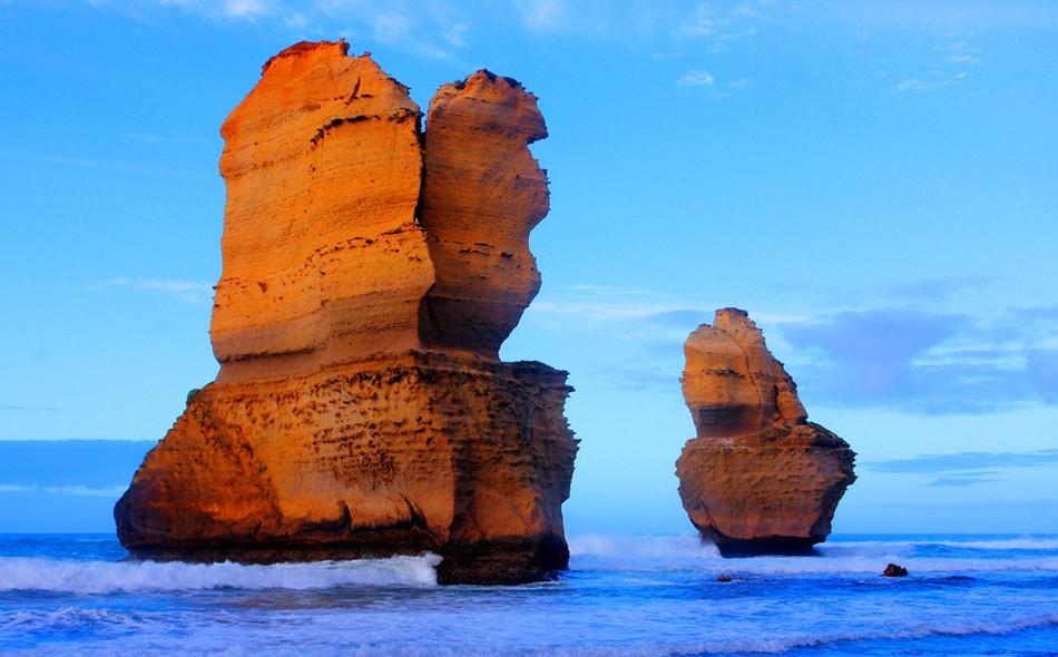 """Скала """"12 апостолов"""", Грейт Оушен Роад, Австралия геология, история с географией, красота, скалы"""