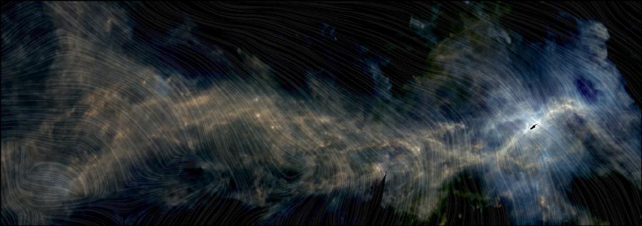 Молекулярное облако Орион А