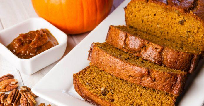 В осенние деньки — это то, что нужно: Ароматный тыквенный хлеб с пряностями