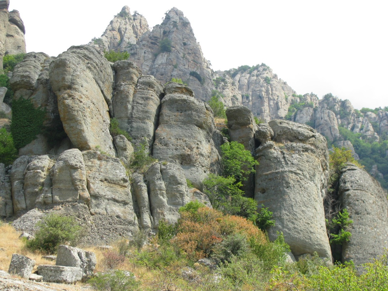 10. ...И снова Крым! Гора Демерджи. Водопад Джур-Джур