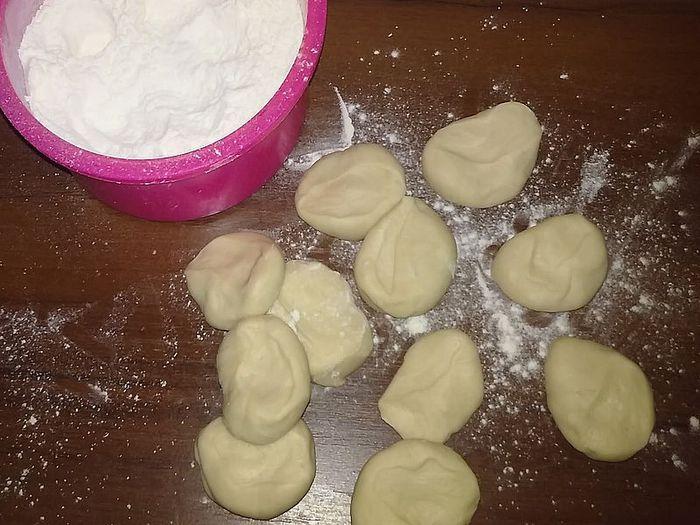 Тесто на манты с молоком рецепт пошагово