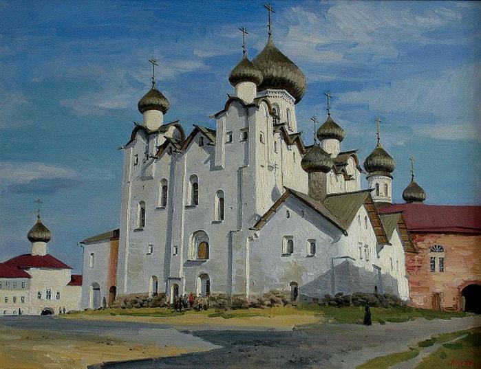 художник Евгений Борисович Молев картины – 09