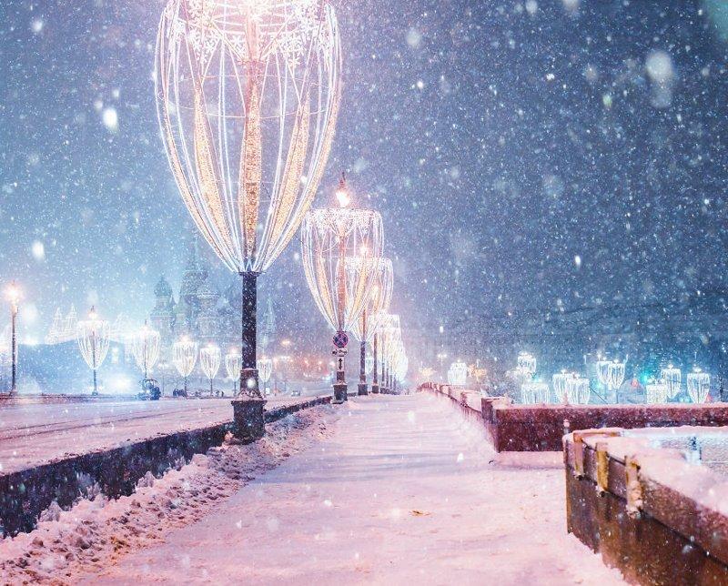 23. достопримечательность, зима, кристина макеева, москва, сказка, снег, фотография, фотомир