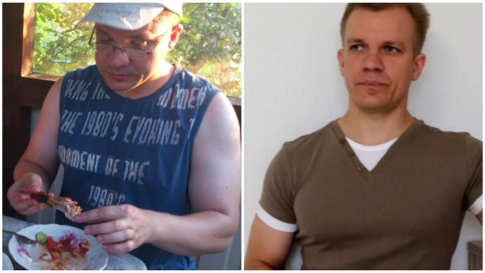 Как похудел мой муж на 17 кг за 3 месяца. Его программа