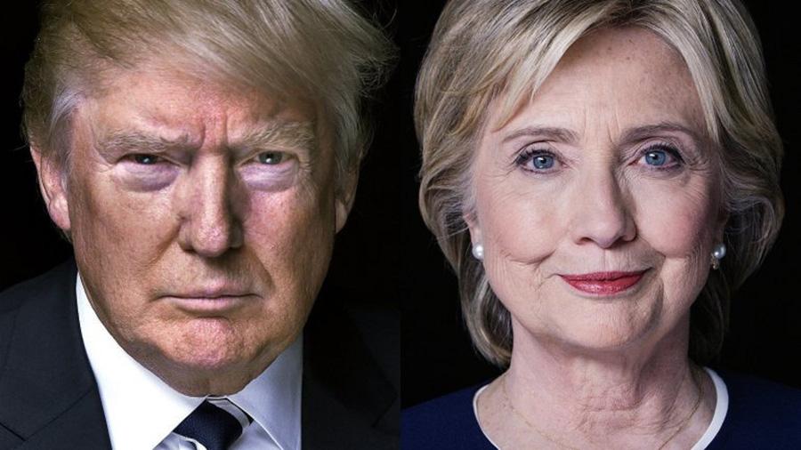 Клинтон vs Трамп