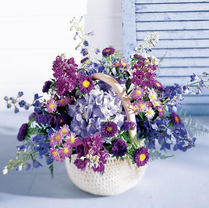 Букеты из полевых цветов с днем рождения