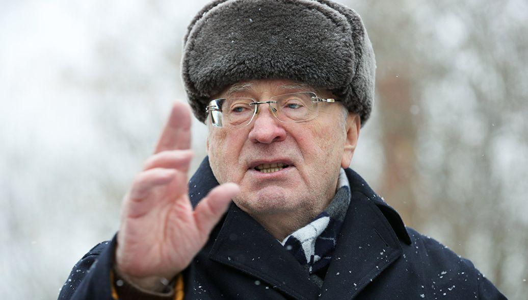 Жириновский предрек войну с Украиной - и раздел ее с Германией