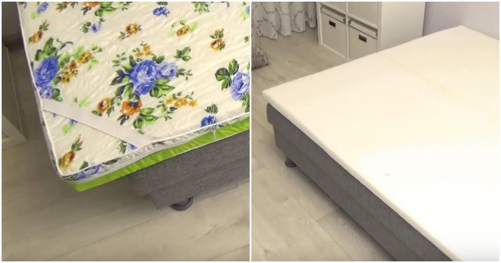 Быстрый и простой способ обновить диван без перетяжки