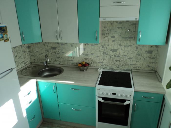 ремонт маленькой кухни фото