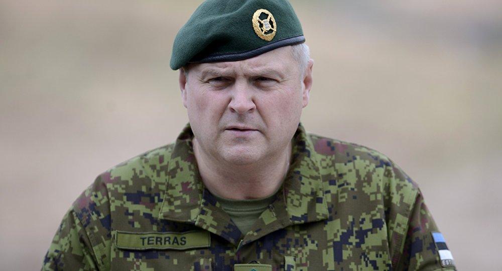 Эстонский генерал: мы не боимся войны с Россией