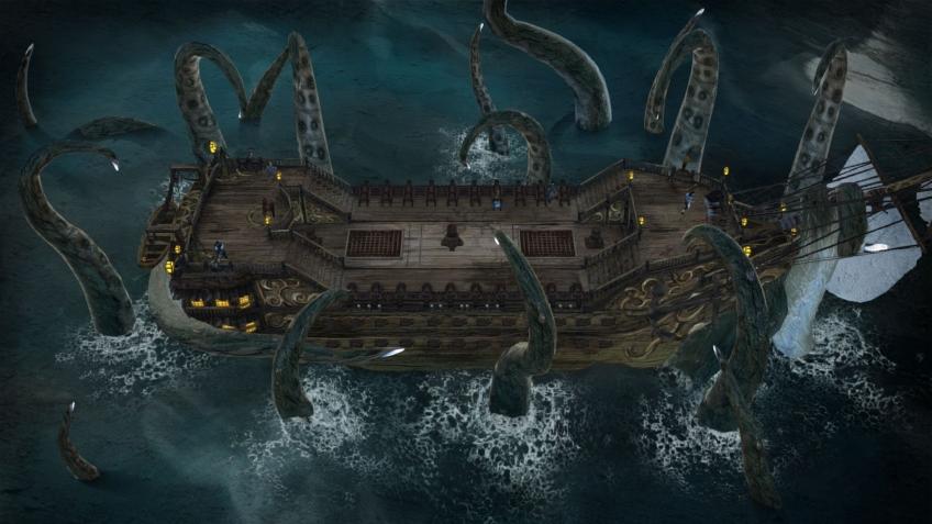В новом трейлере Abandon Ship авторы выпустили кракена