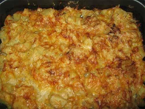 Картошка, запеченная в кефир…