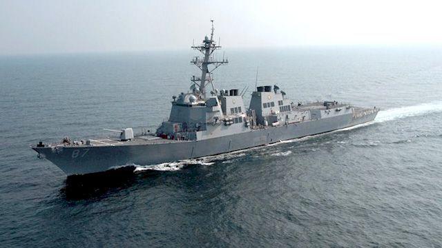 Китайские корабли напугали эсминец ВМС США в Южно-Китайском море