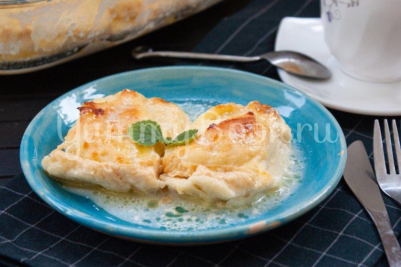 Сырники, запеченные в молочном соусе - шаг 5