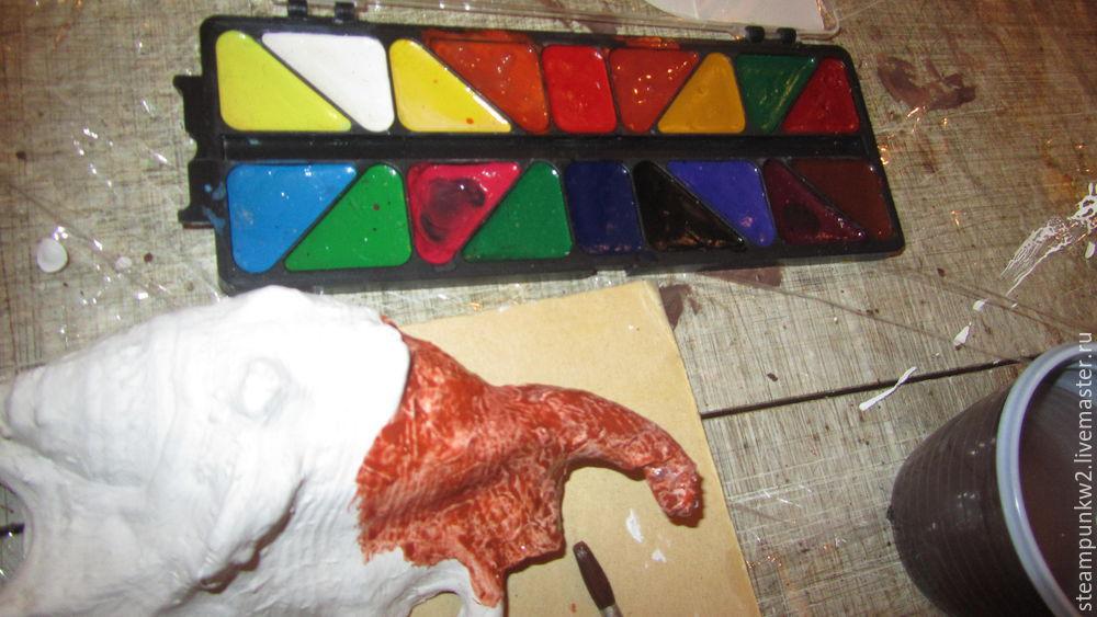 Создаем морские раковины из папье-маше
