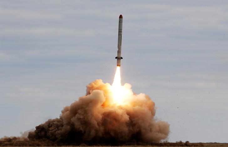 Российские военные провели успешное испытание новой противоракеты