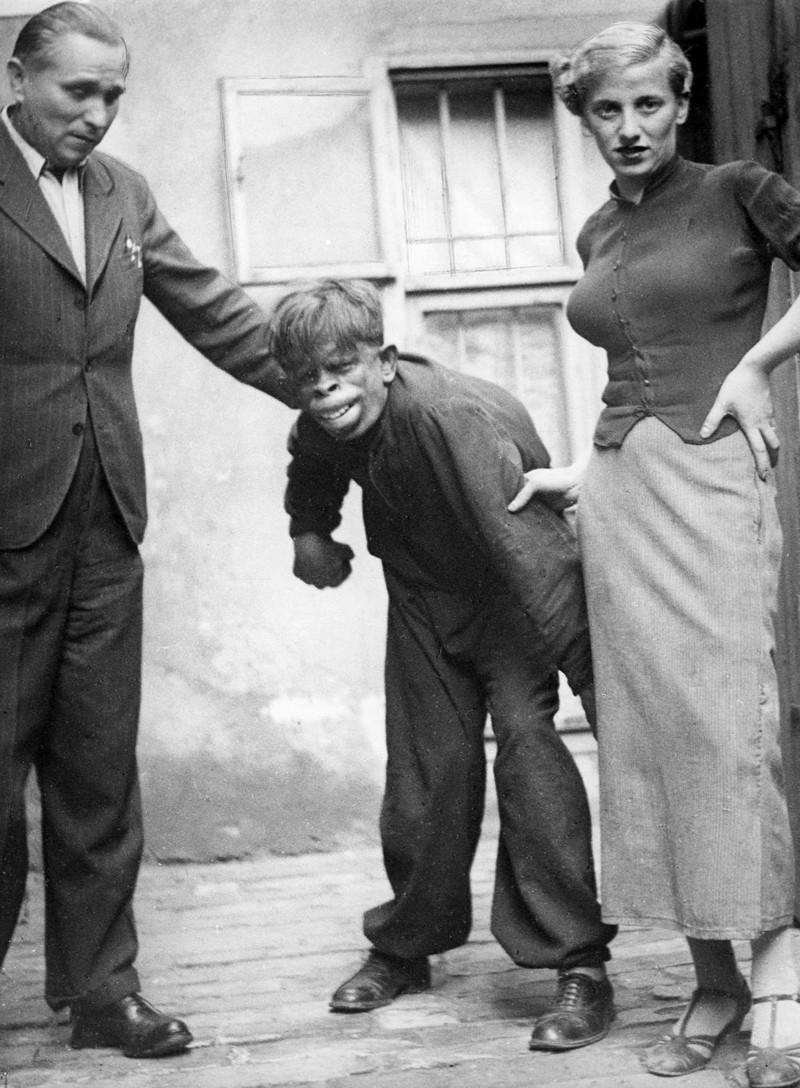 5. Человек-обезьяна, найденный в джунглях Бразилии, 1937 год. история, фото