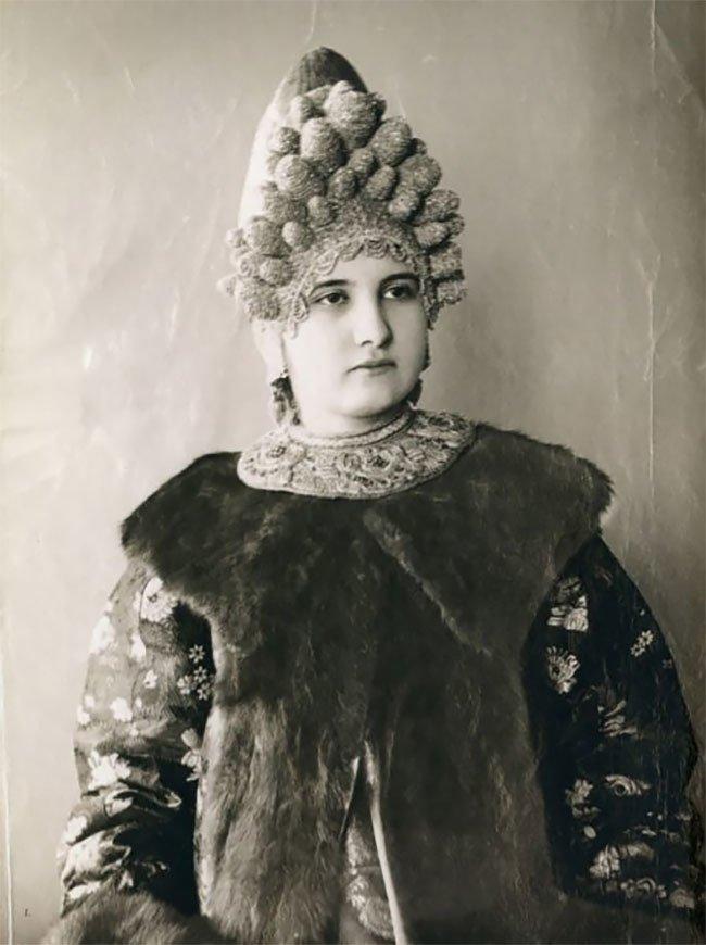 Славянская красота: старинные фотографии русских женщин в традиционных нарядах история, костюм, красота, наряд, платье, прошлое, россия, традиция